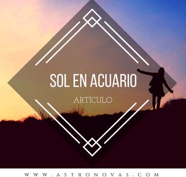 Sol en Acuario