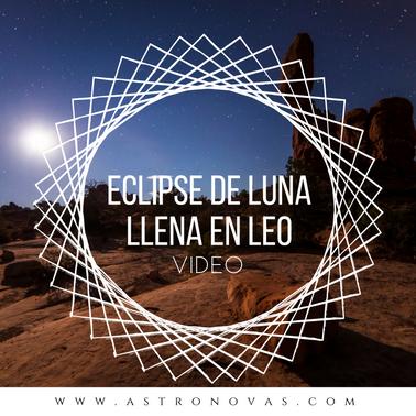 Eclipse Lunar en Leo