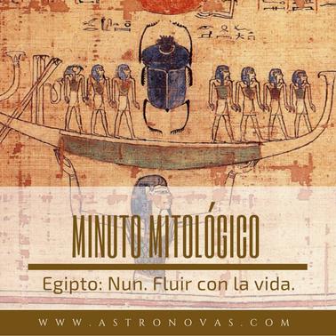 Mitología Egipto Nun