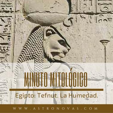 mitología egipcia tefnut la humedad