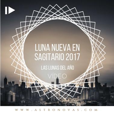 Luna Nueva en Sagitario 2017