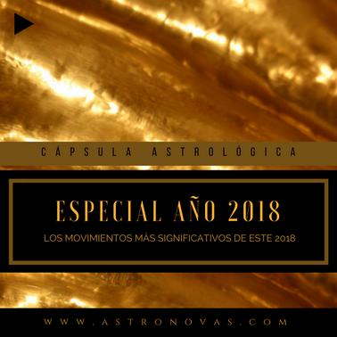 Horóscopo especial Año nuevo 2018