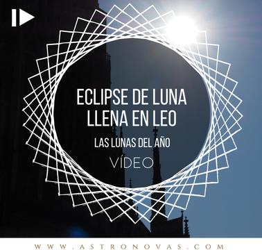Eclipse de Luna Llena en Leo