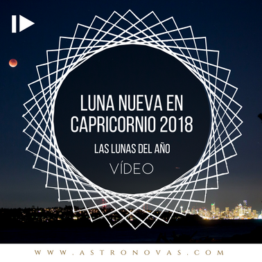 Luna Nueva en Capricornio 2018